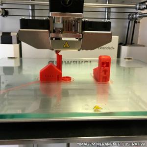 Aluguel impressora 3d