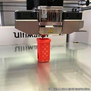 Impressora 3d profissional industrial
