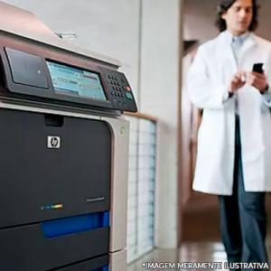 Impressora para ultrassonografia