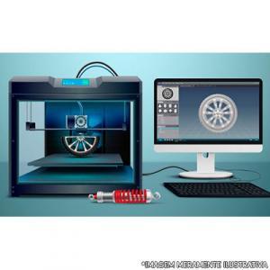 Locação de impressora 3d